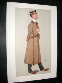 Vanity Fair Print 1906 Lord Howard de Walden